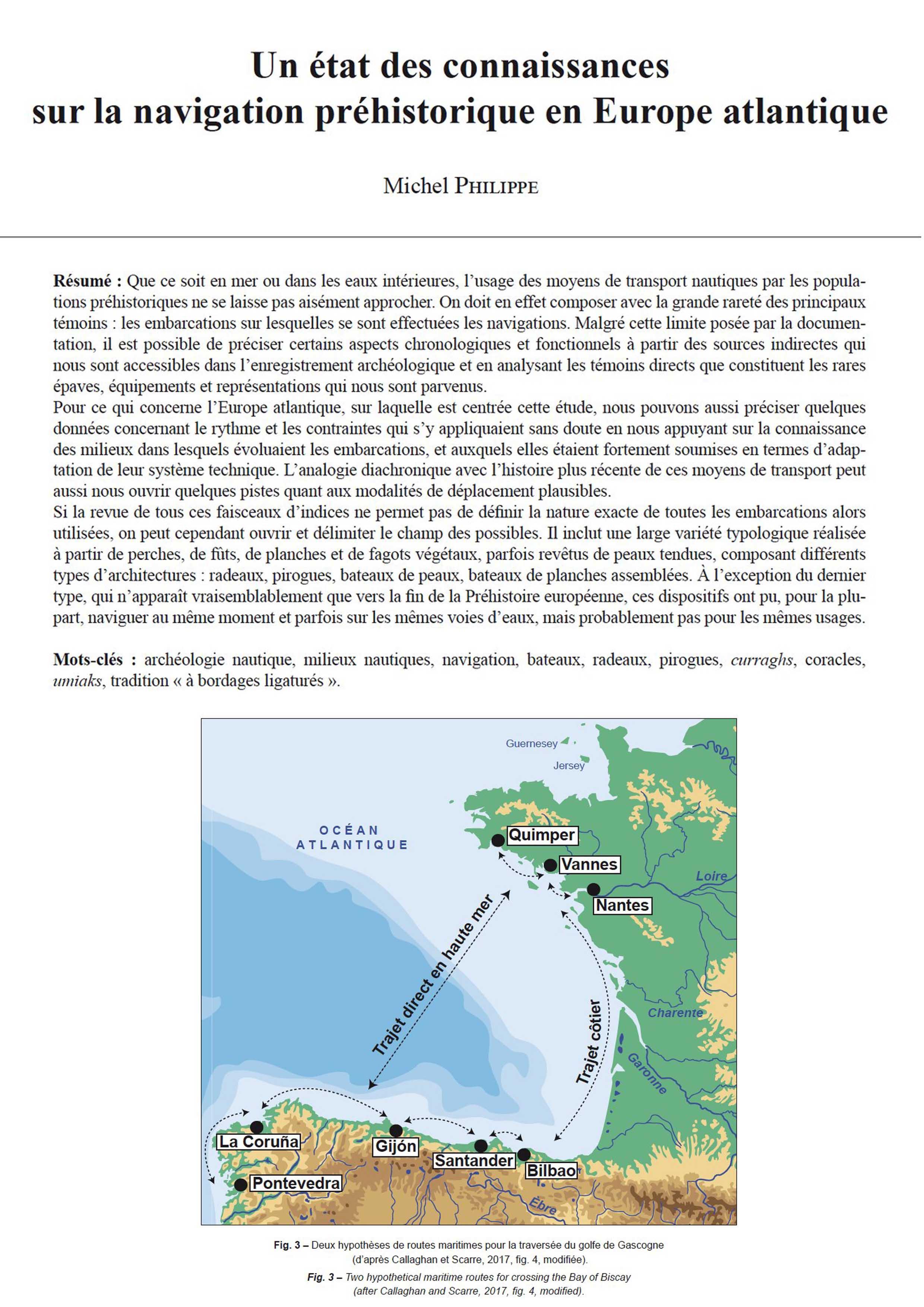Pourquoi Pas De Volets En Irlande 17-2018, tome 115, 3, p. 567-597 - michel philippe – un état des  connaissances sur la navigation préhistorique en europe atlantique