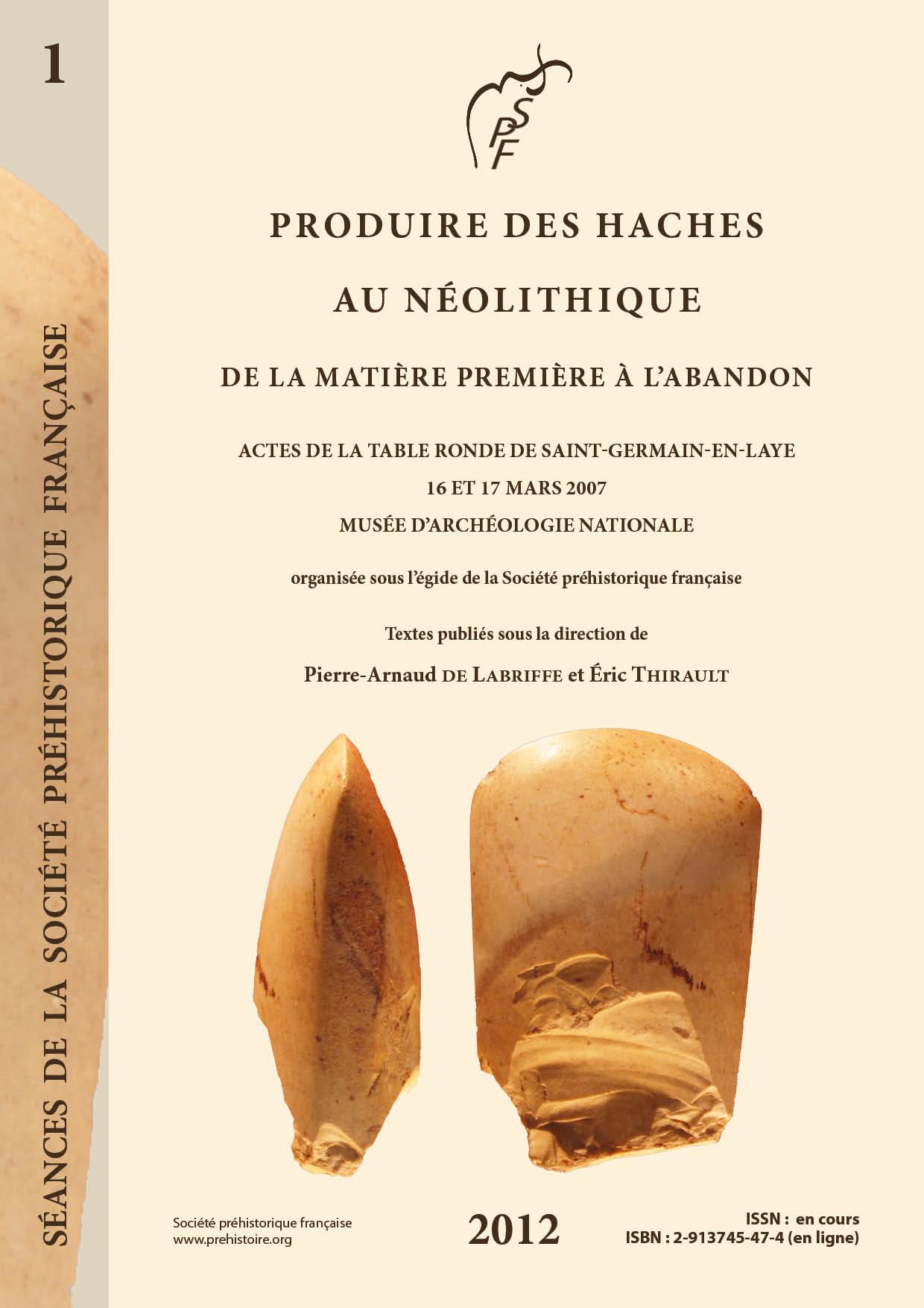 Pierre De L Yonne s1-05pdf - un dépôt d'ébauches de haches à fontaine-la