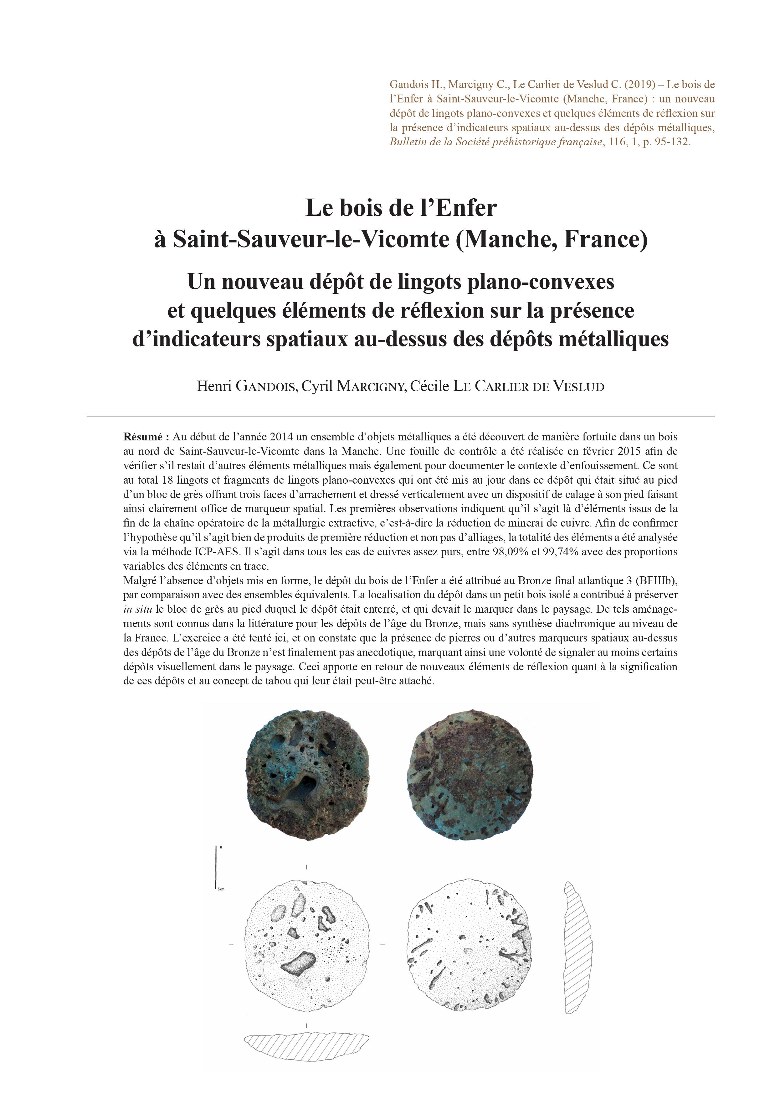 Comment Faire Un Bucher En Bois 05-2019, tome 116, 1, p. 95-132 - henri gandois, cyril marcigny, cécile le  carlier de veslud — le bois de l'enfer à saint-sauveur- le-vicomte (manche,